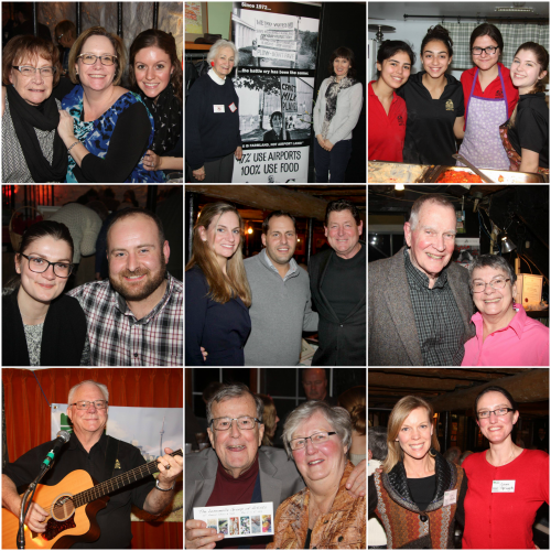 Images of guests at Land Over Landings Fundraiser