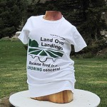 Land Over Landings t-shirt front