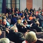 Land Over Landings packs city council chambers!