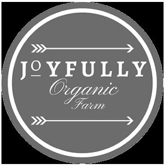 Joyfully Organic Farm logo