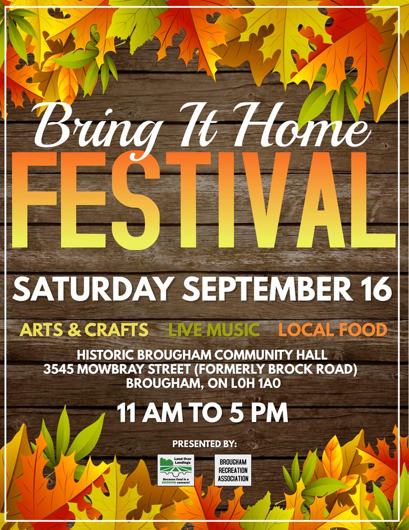 Image of Harvest Festival poster
