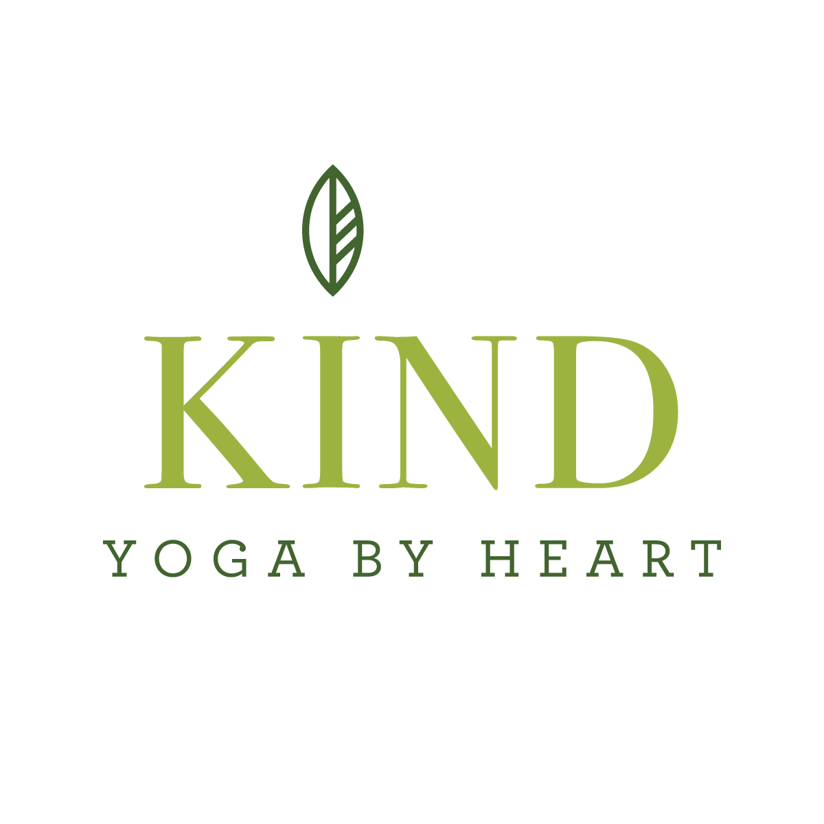 Kind Yoga By Heart Logo
