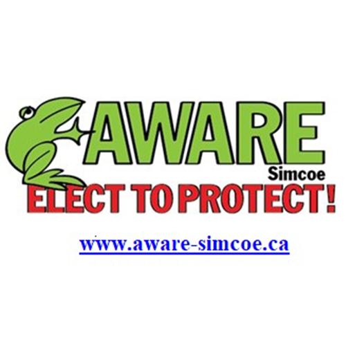 Simcoe Aware Logo